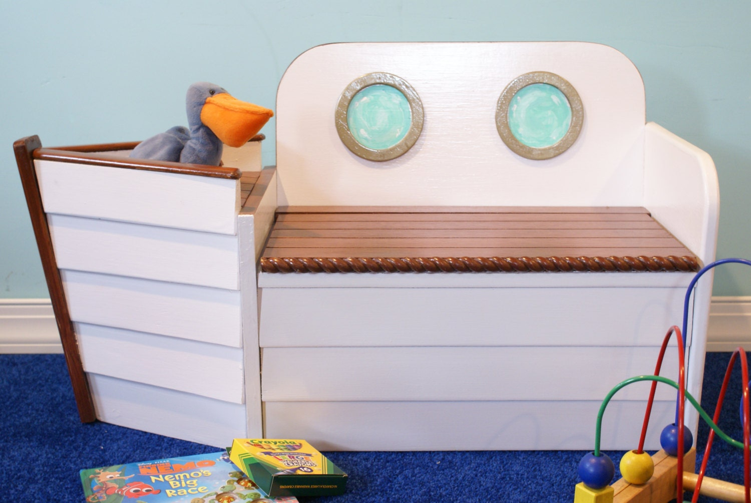 Wooden Toy Chest Bench Plans