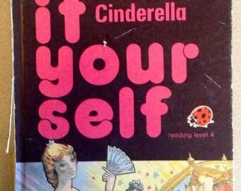 Vintage Children's Book: Cinderella