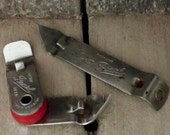 Pair Pearl Beer Can or Bottle Openers