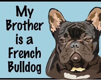 French Bulldog - Black/Baby Clothes/Baby Boys' Bodysuit/Baby Girls' Bodysuit/Baby Shower Gift/Toddler tee shirt