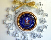 US Navy Recycled Aluminum Can Decoration