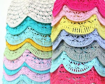 Crochet lampshades - Costume Order for Emily :)