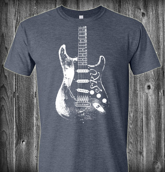 stevie ray vaughan srv guitar t shirt by luckyarmadillo on etsy. Black Bedroom Furniture Sets. Home Design Ideas