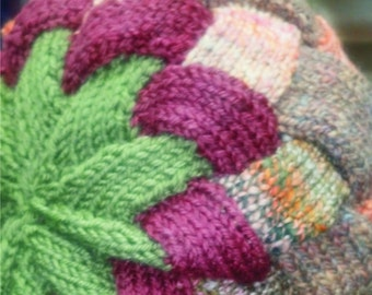 Pattern for Entrelac Hat