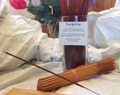 Energize Life Affirming Incense -11 inch Double Dipped  and Handcrafted