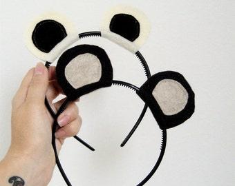 Panda Bear Headband