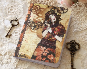 Illustrated notebook - The Mechanic of My Heart