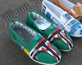 SALE-  Custom Boba Fett Toms! Made to Order for Anyone!
