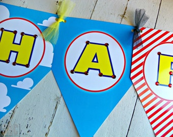 Toy Story - Jessie the Cowgirl Happy Birthday Banner...Set of 1 Happy Birthday Banner