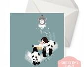 Greeting Card - Pandi Bears