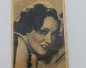 Vintage Gloria Swanson Cigarette Tobacco Card Collectible