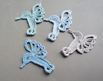 Free Crochet Hummingbird Doily Pattern : Free Crochet Hummingbird Patterns submited images.