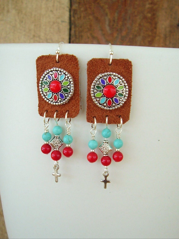 https://www.etsy.com/listing/180787055/boho-earrings-southwest-jewelry