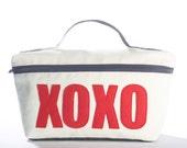 XOXO medium travel bag from eco-friendly materials