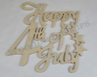 "Happy Fourth of July 1/2"""