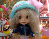 Blythe Carnival Adorable Carousel great size for Barbie and Pullip Highly Detailed with moving horses