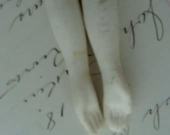 Reserved and sold Unfired Antique Bisque Doll Arms N0 253