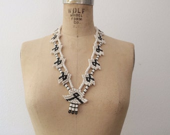 tribal necklace / statement necklace / Gantsi necklace