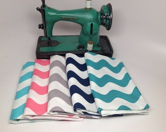 SALE  - Wave Cottons - Fat Quarter Bundle (5) - RBD Designers for Riley Blake Designs