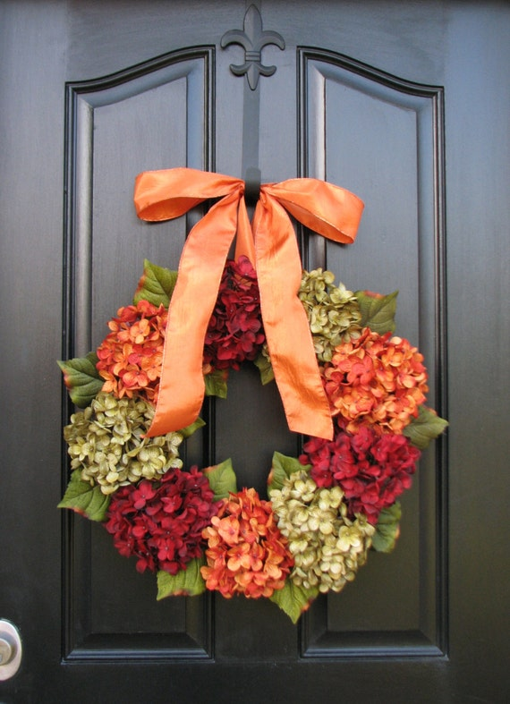 Items similar to thanksgiving wreath wreath sale fall wreaths autumn wreaths wreaths - Thanksgiving decorations on sale ...