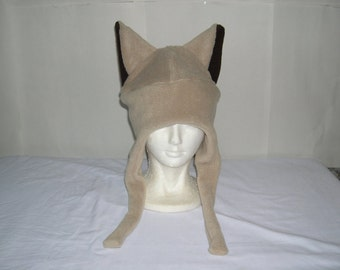 Fleece Cat with Ties Pick your own solid colors NEW