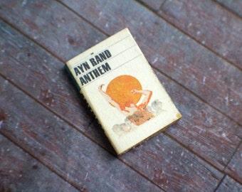 Miniature Book --- Anthem