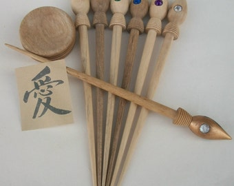 Original Russian spindle .   Supported spindle. Siberian spindle. Gypsy   Mariana spindle.
