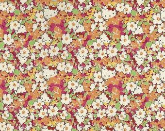 hello kitty x liberty art fabric  2013 - Last series - best selection - hide and seek - kakurenbo- fat quarter - orange mix