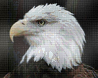 Cross Stitch Pattern, Cross Stitch Patterns, Cross Stitch, Counted Cross Stitch, Cross Stitch Chart, Xstitchpatterns, Cross Stitch Eagle