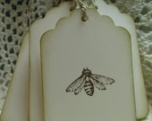Old Fashioned Honey Bee Hang Tags - Set of Eight