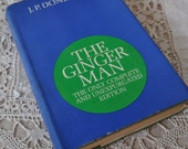 The Ginger Man First Edition/Vintage 1960s/By J.P. Donleay/Cloth Cover Second Printing