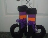 Whimsical Witch Boots