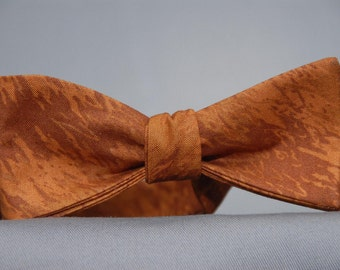 Drizzled Ginger Bread  Bow tie