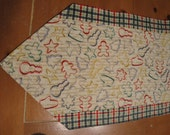 Christmas Cookie Cutter Table Runner