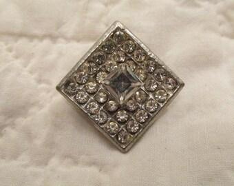 Vintage Rhinestone Brooch Sale