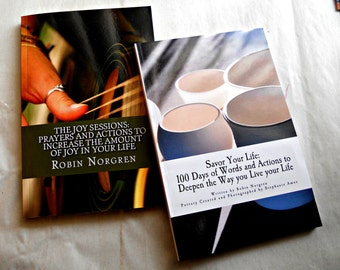Savor Your Life and Joy Session Combo Devotional Journals Deepen the Way you Live your Life Full Color