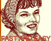 Half Hat - Ear Warmers EASY Crochet Pattern 723164