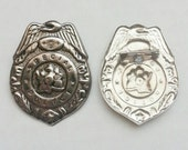 1960's Toy Tin Special Police Badge