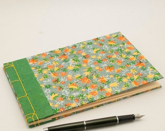 Blank Journal, Notebook or Guestbook with a Japanese Theme perfect for Haiku