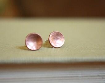 Copper Disk Stud