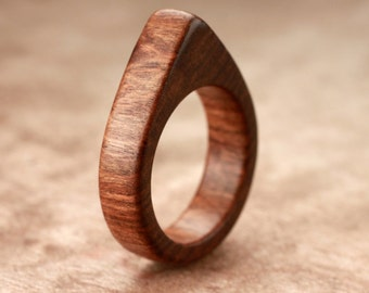 Size 7.25 - Tamboti Wood Ring No. 155