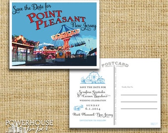 Point Pleasant Post Card Save the Date