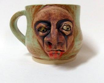 Zombie Face Mug