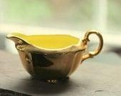 SALE Vintage Royal Winton Golden Yellow Creamer