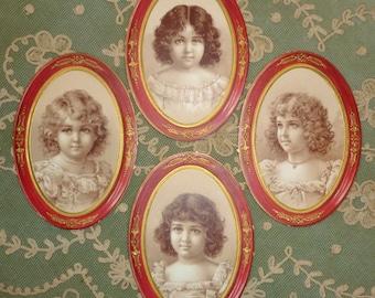 Antique Candy Box Labels