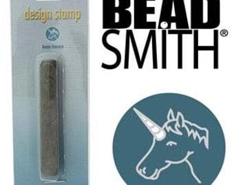 Metal Design Stamp By Beadsmith 6mm Unicorn