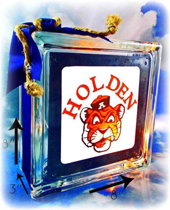 Auburn Tiger Night Light Lamp Team Football By AbodeDecorGifts