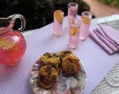 Pink Lemonade and Chocolate Chunk Cookies