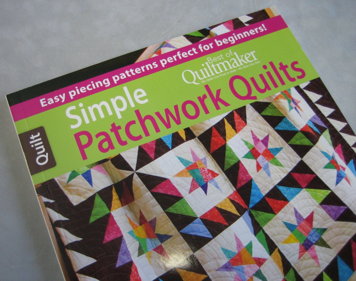 Simple Patchwork Quilts From Sewmanyquiltbooks On Etsy Studio