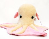 Leonardo the Octopus Glow in the Dark Stuffed Animal Plush Toy
